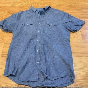 American Rag Short Sleeve button up trendy/casual
